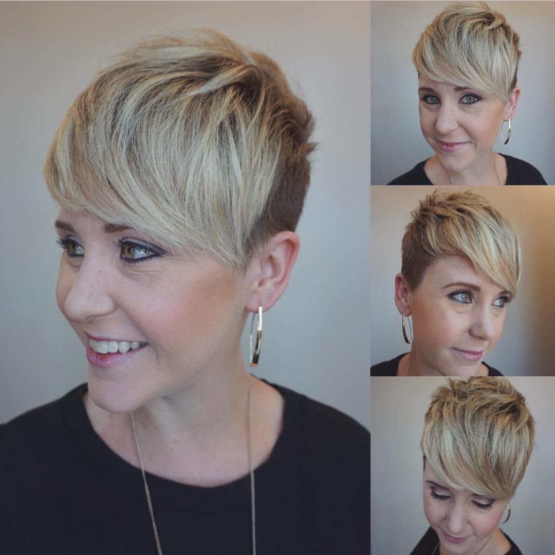 10 coupes de cheveux très courtes à la mode pour les femmes, les styles de cheveux courts cool ...