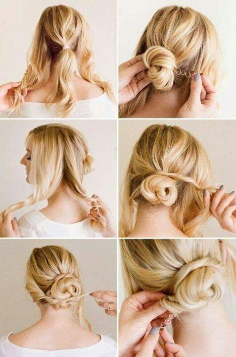 Tutoriel de coiffures Updo mignon et facile pour le mariage