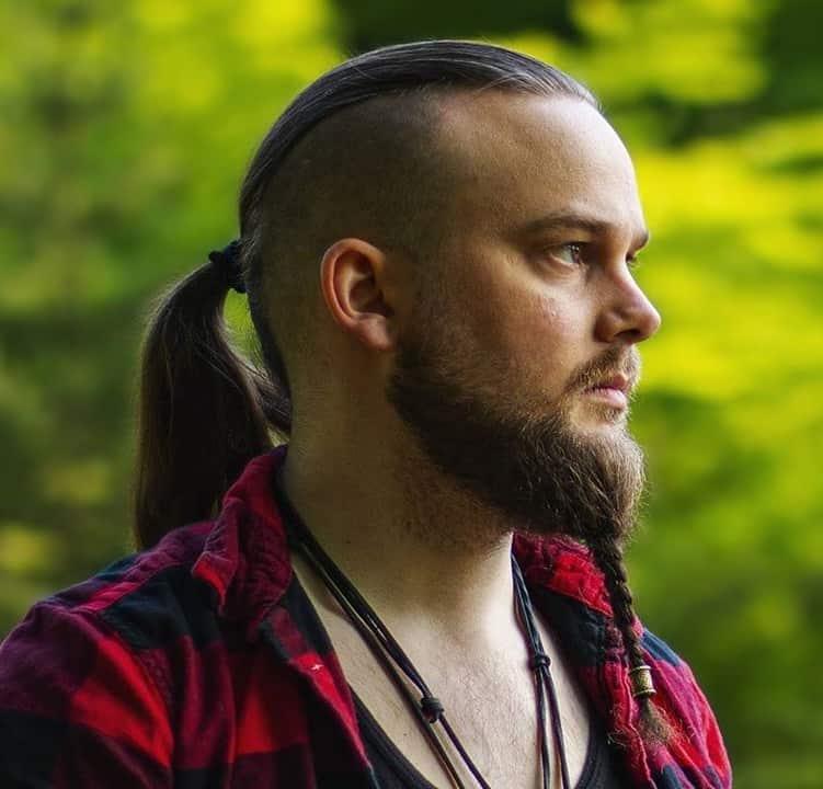 barbe tressée viking