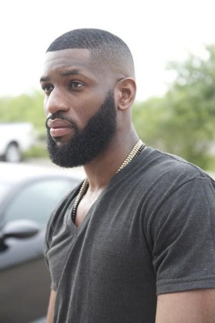 fondu de cheveux bouclés pour les hommes noirs