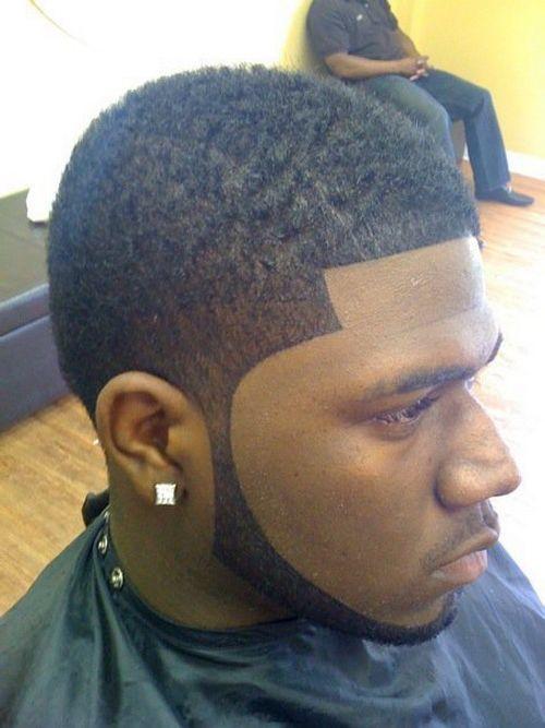 coupes de cheveux effilées pour les hommes noirs 3