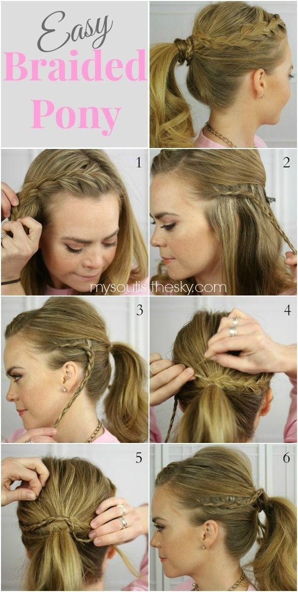 Retour à l'école Coiffures pour les tutoriels cheveux longs