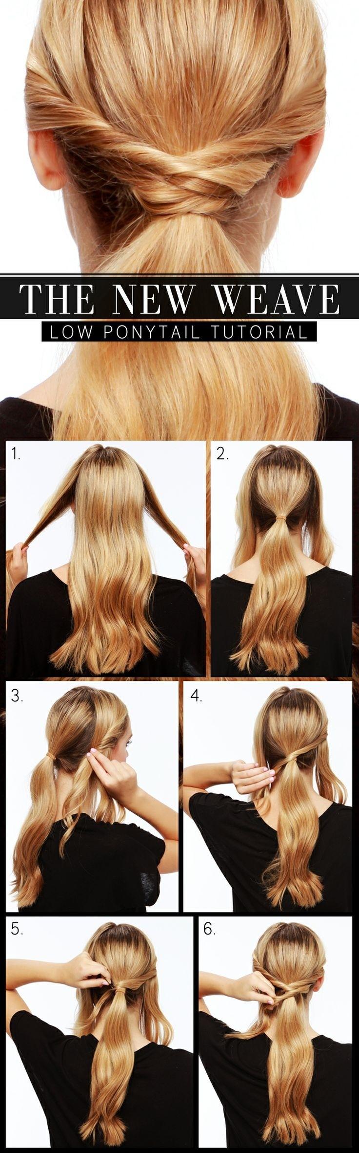 Tutoriels de coiffure pour queues de cheval charmants et utiles