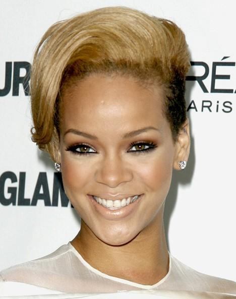 Coupes de cheveux courtes Rihanna