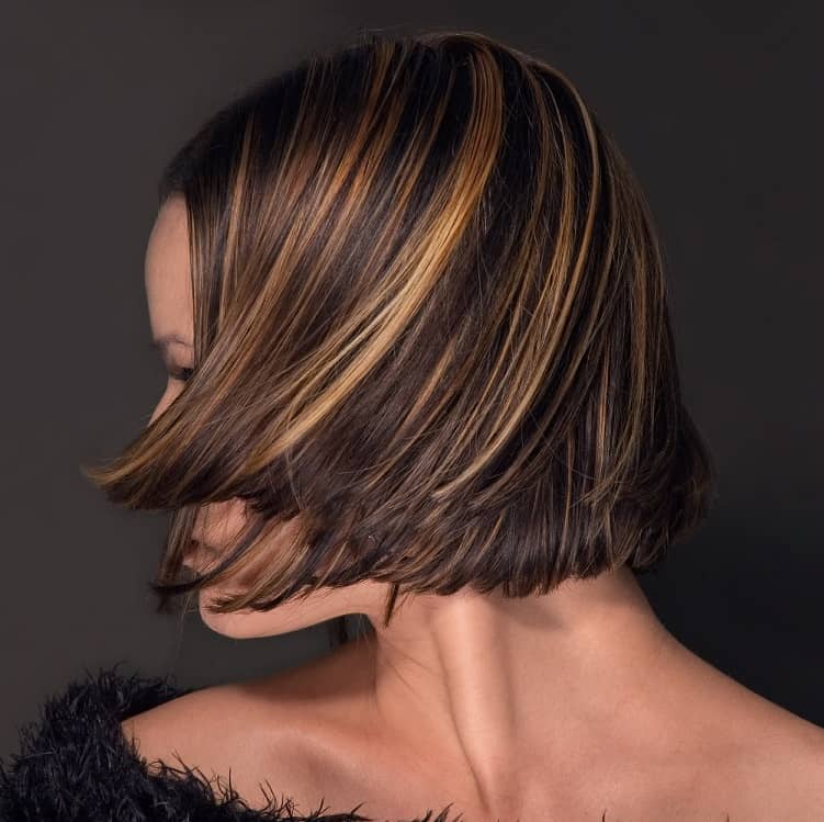 mèches cheveux courts