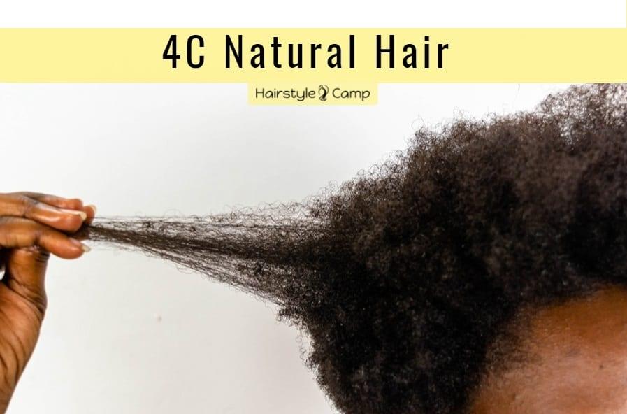 grow long 4c natural hair