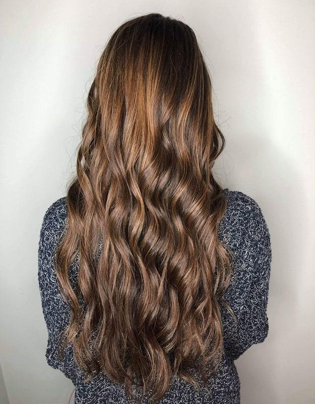 balayage couleur des cheveux