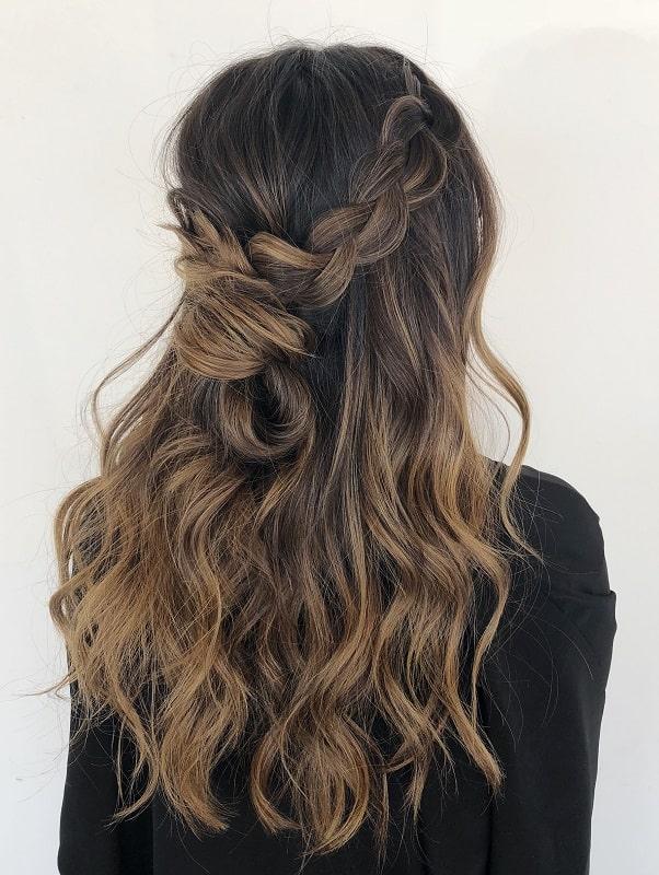 Balayage des idées de couleur de cheveux